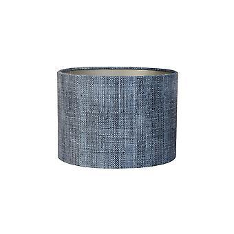 Licht & Living Zylinder Schatten 30x30x21cm Rinde Blau