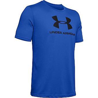 Under Armour Sportstyle Logo 1329590486 universell sommar män t-shirt