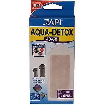 API Aqua Detox Superclean40 / 60 X2 (Fish , Filters & Water Pumps , Filter Sponge/Foam)