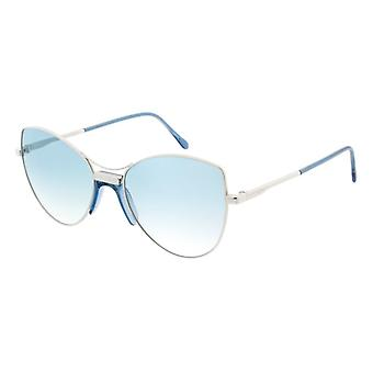 Andy Wolf Nimah E Palladium/Blue Gradient Sunglasses