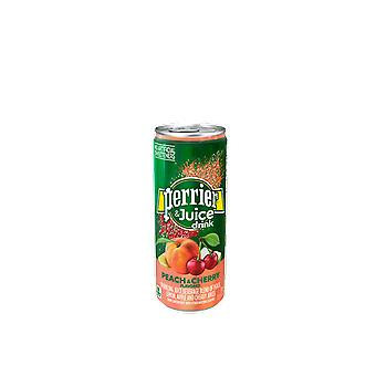 Perrier Slim Cans Peach Cherry -( 330 Ml X 24 Cans )
