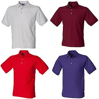 Henbury Mens Ultimate 65/35 Polo Shirt