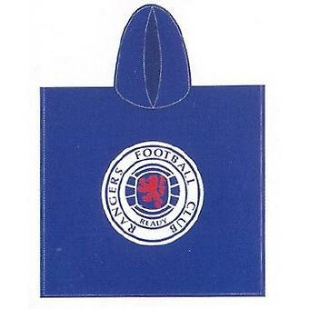 Rangers FC Childrens/Kids Hooded Poncho Towel