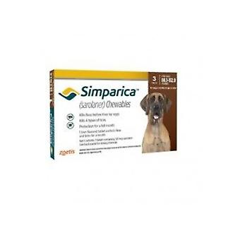 Simparica 120mg Chewable Tablets For Dogs >40-60 kg (88-132 lbs)