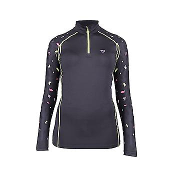 Shires Aubrion Hyde Park Womens Cross Country Shirt - Leopard
