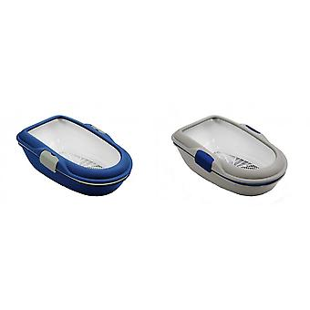 Furba Chic Sifting Cat Litter Tray With Rim