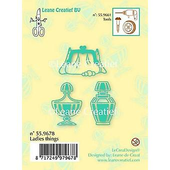 LeCrea Clear Stamp - Ladies Things