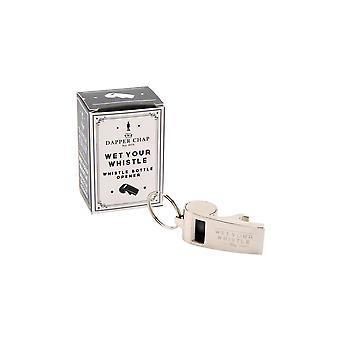 Dapper Chap Wet Your Whistle Bottle Opener Whistle