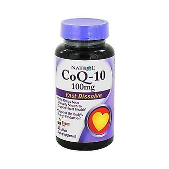Natrol coq-10, 100 mg, softgels, 45 ea
