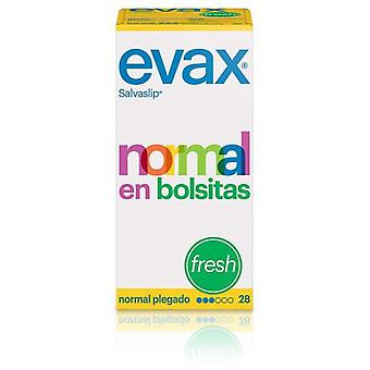 Evax Normal Salvaslip Fresh Bags 28 Units
