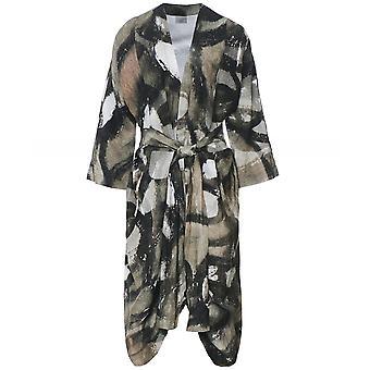 Crea Concept linnen Blend gedrukt jasje