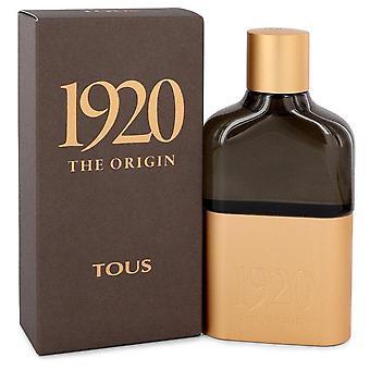 Tous 1920 the origin eau de parfum spray by tous 545136 100 ml