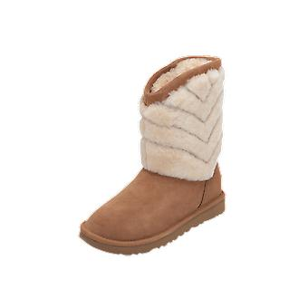 UGG TANIA Women's Boots Brown Lace-Up Boots Winter