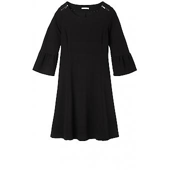 Sandwich Clothing Black Bell Sleeve Dress