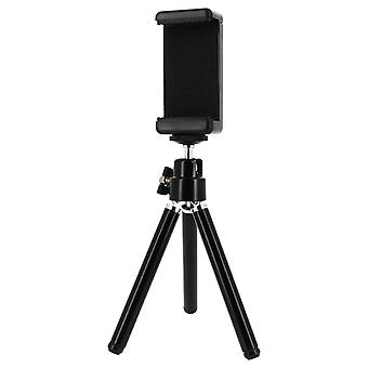 Mini tripod with telescopic legs for smartphones - 360 ° rotation