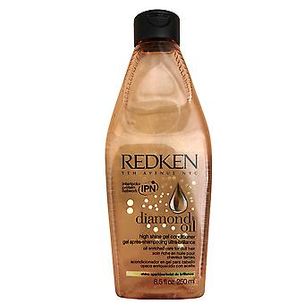 Redken Diamond Oil High Shine Gel Conditioner Dull Hair 8.5 OZ