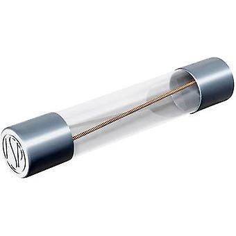 Püschel FSUT3,15B Micro zekering (Ø x L) 6,3 mm x 32 mm 32 mm 3,15 A 250 V Vertraging -T- Inhoud 10 pc(s)