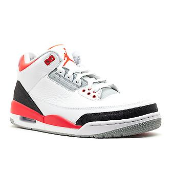 Air Jordan 3 retrô '2013 liberar' - 136064-120-sapatos