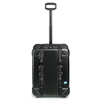bwh valigia Voyager mano bagaglio Trolley scatola da viaggio all'aperto, 2 ruote, 55 cm, 40 L, Nero