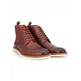 Oliver Sweeney Footwear Leather Brogue Boots