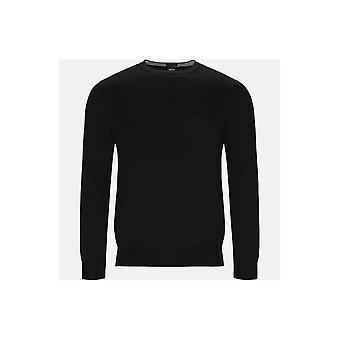 هوغو بوس Pacas1 القطن سليم صالح الملابس التريكو الأسود