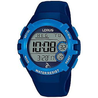 Reloj de pulsera Lorus R2391LX-9 Digital Blue Novak Djokovic Foundation