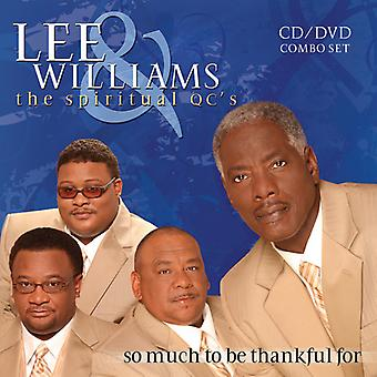 Lee Williams & the Spiritual Qc's - So Much to Be Thankful for [CD] USA import