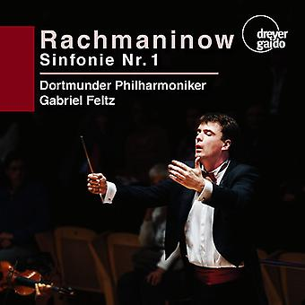 Rachmaninow / Dortmunder Philharmoniker / Feltz - Symphony No 1 [SACD] USA import