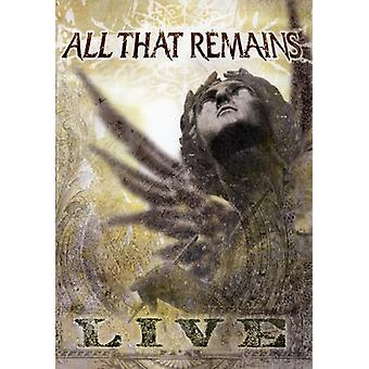 All That Remains - All That Remains Live [DVD] USA import