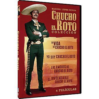 Chucho El Roto Coleccion: 4 Peliculas [DVD] USA import