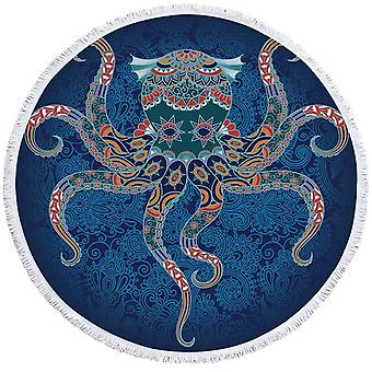 Oosterse kenmerken Octopus strandlaken