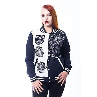 Harteloze-Doctor Who schurken-vrouwen Varsity Jacket