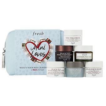 Fresh Mini Loves Mask Set (6 Pcs) New With Bag