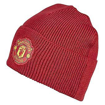 2020-2021 Man Utd Adidas 3S Woolie Hat (Red)