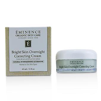 Heldere huid 's nachts corrigeren crème normaal tot droge huid 219011 60ml/2oz