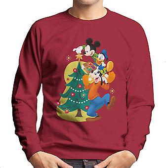 Disney Mickey & Co koristelu joulu kuusi miehet ' s paita