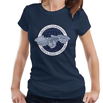 Camiseta Alien Covenant Ship Logo Women's