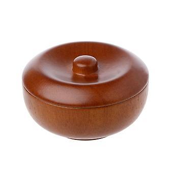 Men's Wooden Shaving Soap Bowl For Straight Razor Set Shaver Soaps Cream