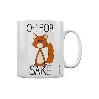 Grindstore Oh para a caneca do sake da raposa
