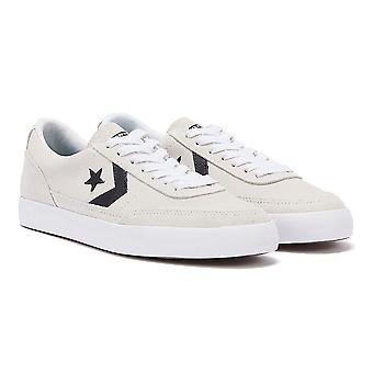 Converse Net Star Classic Suede Mens White / Black Ox Trainers
