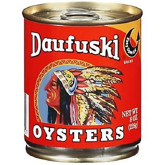 Daufuski fancy whole gekookte oesters