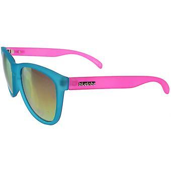 نظارات شمسية Unisex قوس قزح Cat.3 الأزرق / الوردي