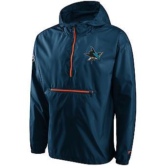 San Jose Sharks ICONIC Windbreaker Jacket, packable