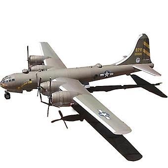 93 * 65cm B29 Super Aerial Fortress Bomber Aircraft - Diy 3d papirkort modell byggesett bygge leker pedagogisk