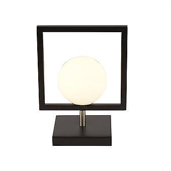 Søkelys rosewell - 1 lys bordlampe matt svart, matt svart, G9