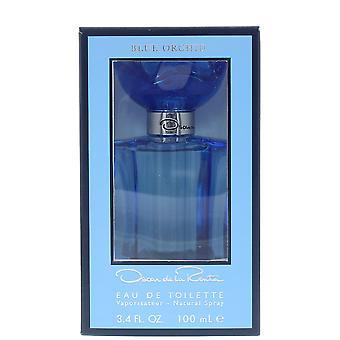 Oscar de la Renta Blue Orchid Eau de Toilette 100ml Spray For Her