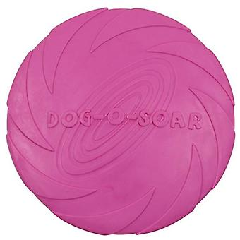 1pcs Silicone Flying Saucer, Dog, Cat Toy - Resistant Chew Puppy Training