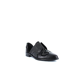 Freda Salvador | Western Leather D'Orsay Loafers