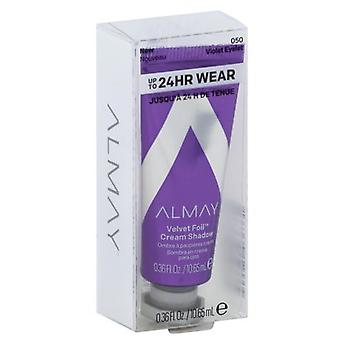 Almay Velvet Foil Cream Shadow 0.36mL, Violet Eyelet 050