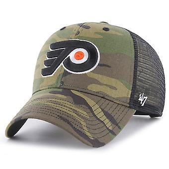 כובע נהג משאית 47 - ברנסון פילדלפיה פליירס הסוואה מעץ